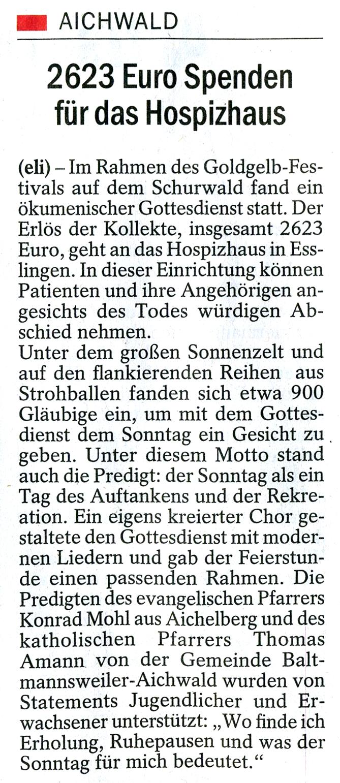 2013_EZ_24_08_2623 Euro Spenden für das Hospizhaus