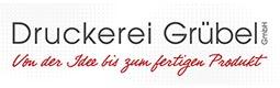 Logo Druckerei Grübel