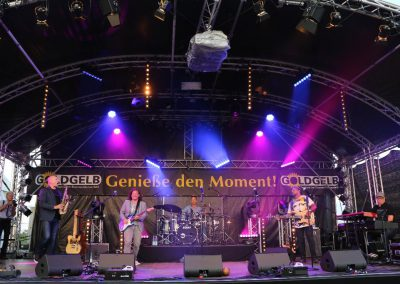 17. August: Toller Start ins Goldgelb-Festival
