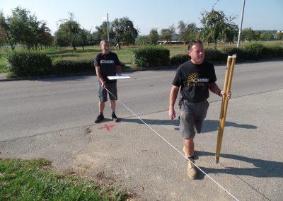 15. September - Acker vermessen