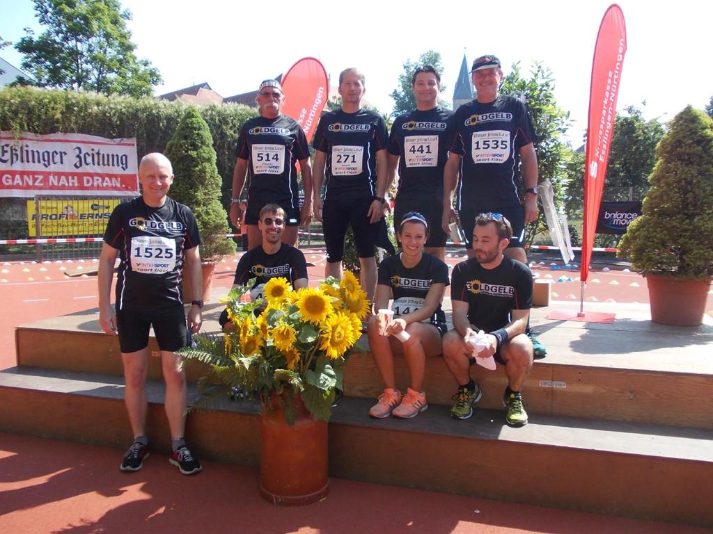 8 Läufer starten beim EZ-Lauf am 5. Juli
