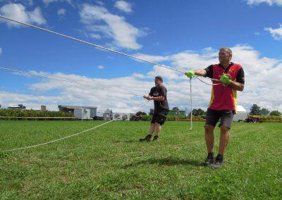 KW 31: Zäune, Häcksel, Stroh und Zelt!